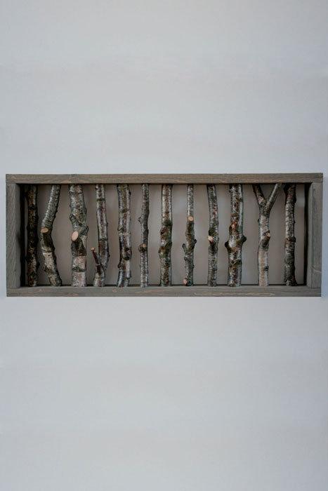 Kapstok grijs frame