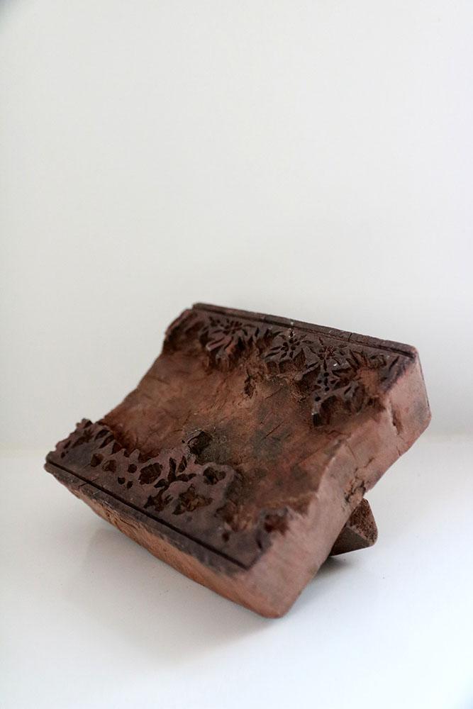 Mooie Houten Stempels.Oude Block Prints Stempels Om Stof Te Bedrukken Uit India